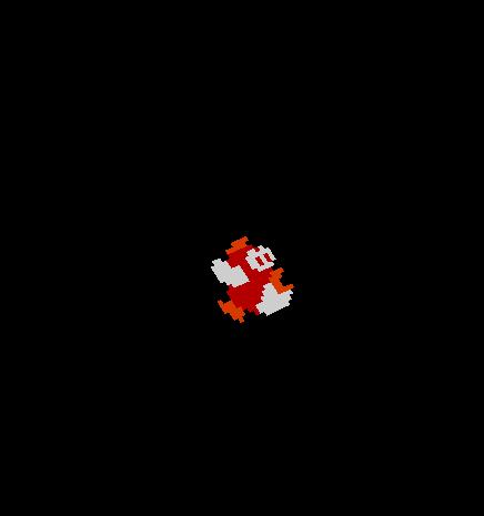 Mario flying fish nova skin for Mario go fish