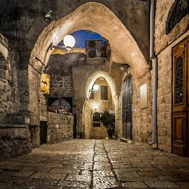 Jaffa, Israel by Dmitriy Andreyev - City,  Street & Park  Historic Districts