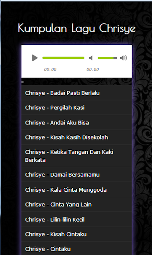 Lagu chrisye for android apk download.