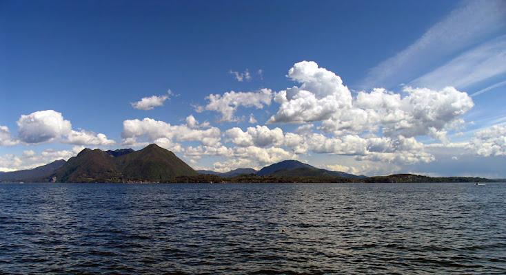 nuvole sul lago di niniane