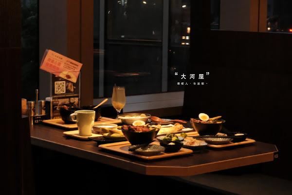 大河屋-Citylink松山店|串燒、丼飯隨你點,米塔集團新品牌來囉