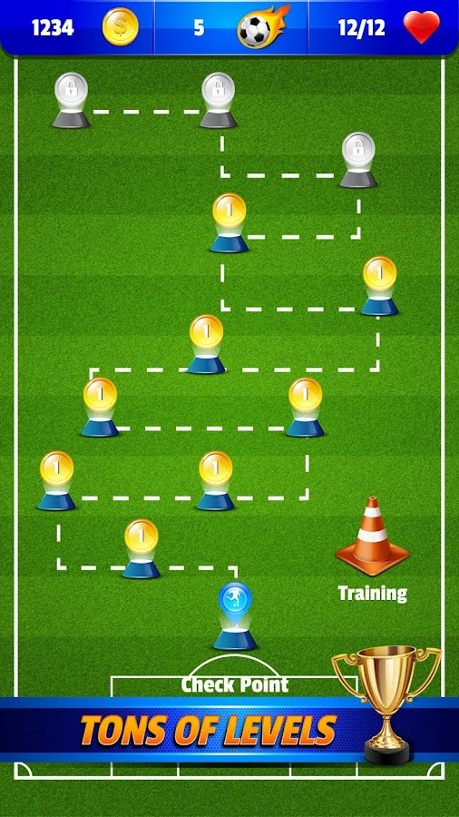 Shoot Goal ⚽️ Penalty and Free Kick Soccer Game - Android ...