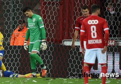 Ce ne sera finalement pas Valdés dans les buts contre Mouscron
