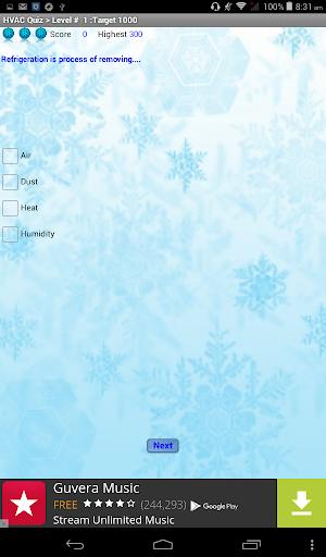 HVAC Quiz modavailable screenshots 6