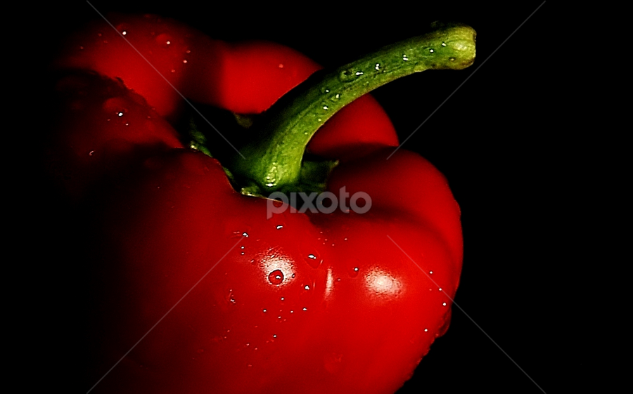 Red Capsicum by Vineet Johri - Food & Drink Fruits & Vegetables