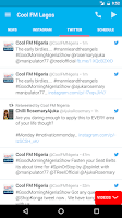 Screenshot of Cool FM Nigeria