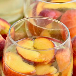 Peach Sangria.