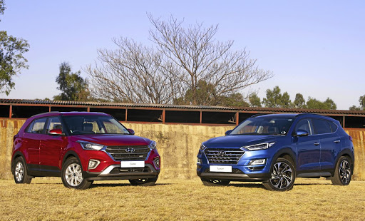 Both the Hyundai Creta and Tucson have had cosmetic updates.