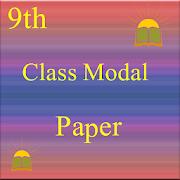 9th Class Modal Paper