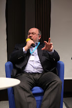 """Photo: Final panel discussion """"Latest Trends for Comms Consultancies"""" 2012 - S. Zverev"""