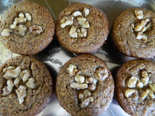 Almond Meal Banana Nut Muffins