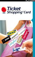 Screenshot of Ticket Shopping Card Edenred