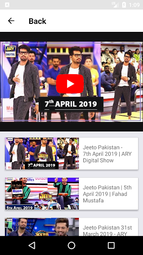 Jeeto Pakistan Shows App Report on Mobile Action - App Store