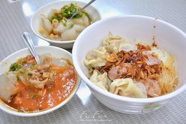 江技舊記餛飩店。扁食、肉圓人氣老店