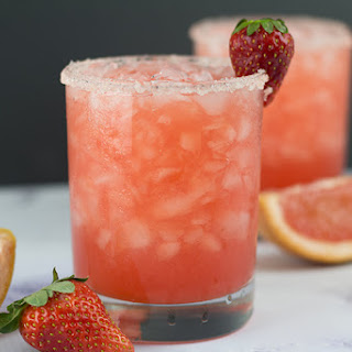 Strawberry Salty Dog Moonshine.