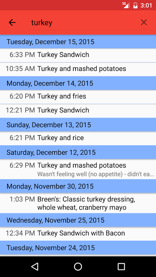 Food Diary Android Apps on Google Play