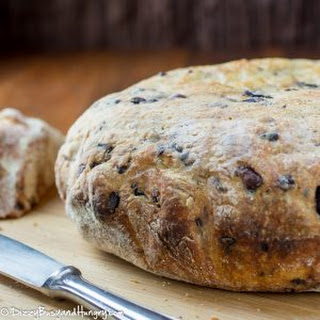Easy Slow Cooker Olive Parmesan Bread Recipe