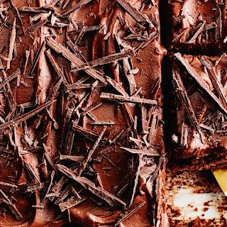 One-Bowl Milk Chocolate Cake with Chocolate-Caramel Frosting Recipe   Epicurious.Com Recipe