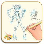 How To Draw Lagoona Blue MH