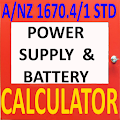 Fire Alarm Battery & Power Supply Calculator