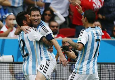 Messi staat op en schenkt Argentinië groepswinst