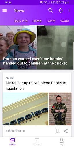 Yahoo News screenshot 3
