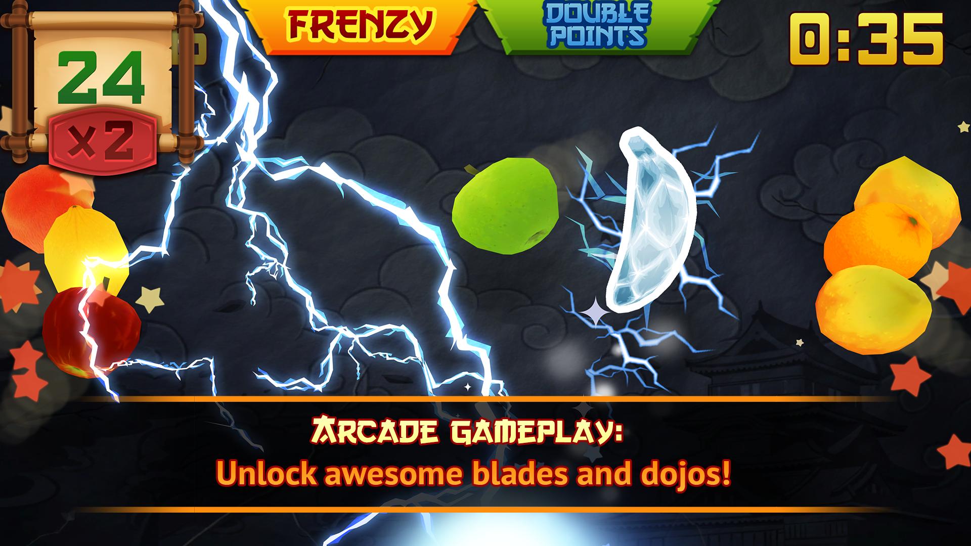 Fruit Ninja screenshot #3