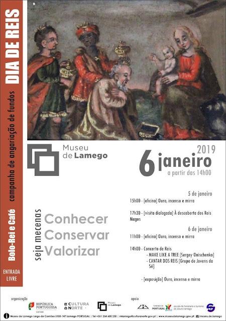Dia de Reis no Museu de Lamego
