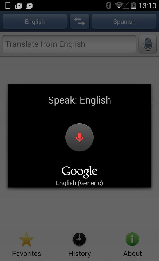 iTranslate - free translator - screenshot