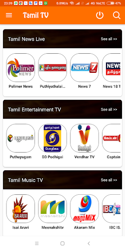 Download Tamil TV online APK latest version app by Tamil cable TV