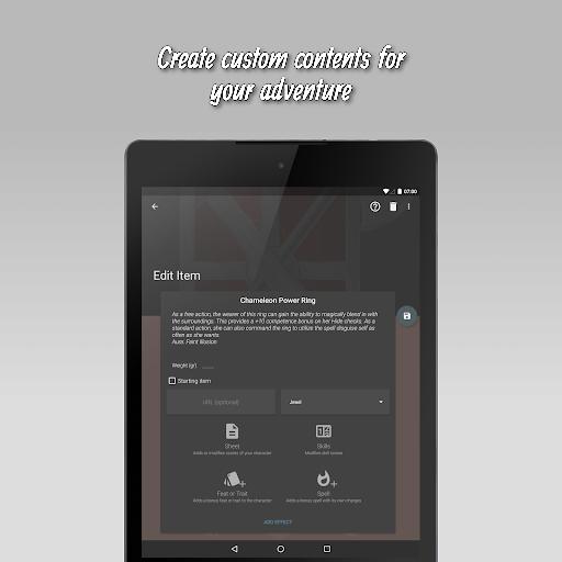 The 20 - RPG Companion App apktram screenshots 16