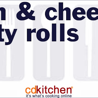 Ham & Cheese Party Rolls