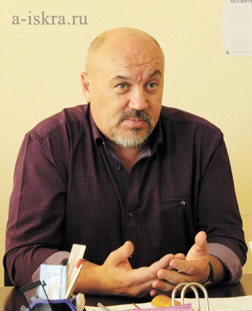 Александр Шаньгин, руководитель территориального управления в п. Н.-Шайтанском