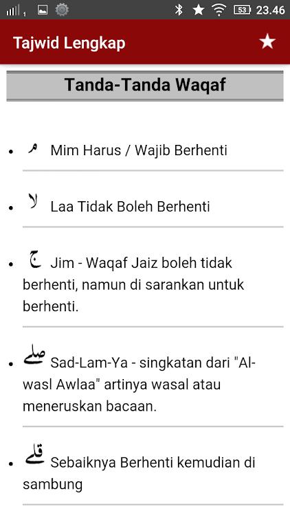 Tajwid Al Quran Lengkap Audio Android Sovellukset Appagg