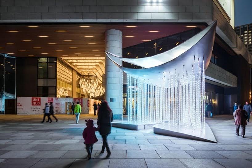 Mur Mur Lab ha diseñado 'New Moon' como parte del Festival de Lumiere Shanghai