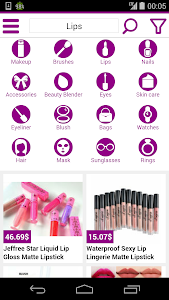 beauty shopping online screenshot 2