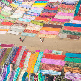 SCENIC ROUTE by Vishal  Singh - Uncategorized All Uncategorized ( colorful, india, travel, daily life, people, sarees, culture )