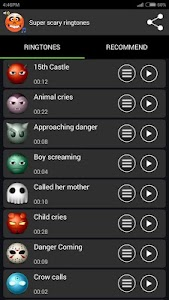 Super Scary Ringtones screenshot 3