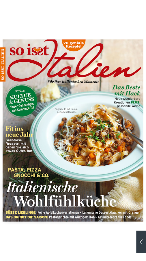 So is(s)t Italien Magazin- screenshot
