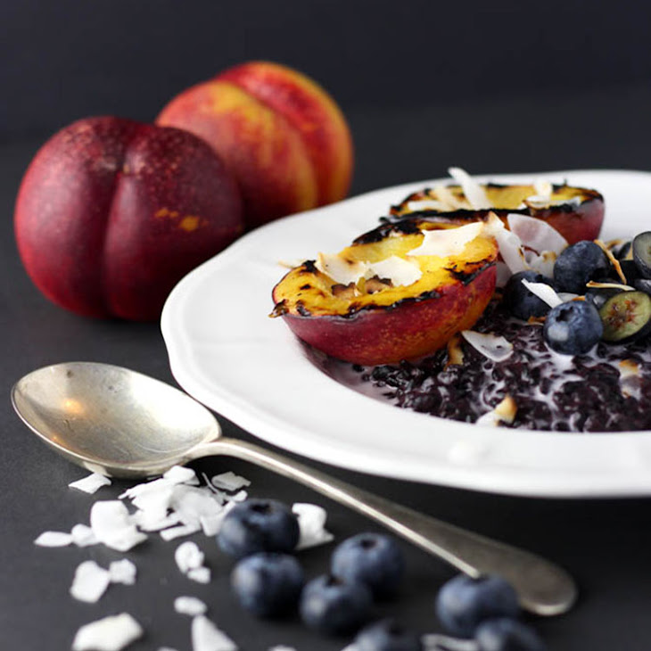 Creamy Rice Pudding With Broiled Plums Recipes — Dishmaps