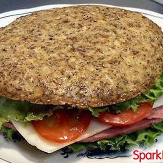 Flax Sandwich Buns (Gluten Free, Low Carb, Grain Free).