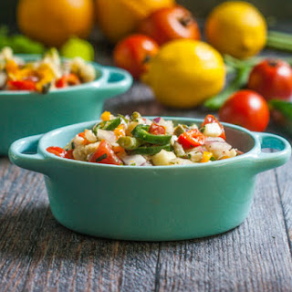 Citrus Herb Chopped Garden Salad