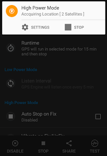 GPS KeepAlive Screenshot 3