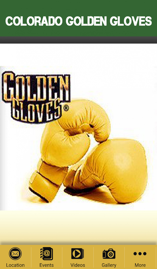 Colorado Golden Gloves- screenshot