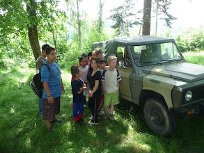 Photo: Projížďka vojenskými vozy