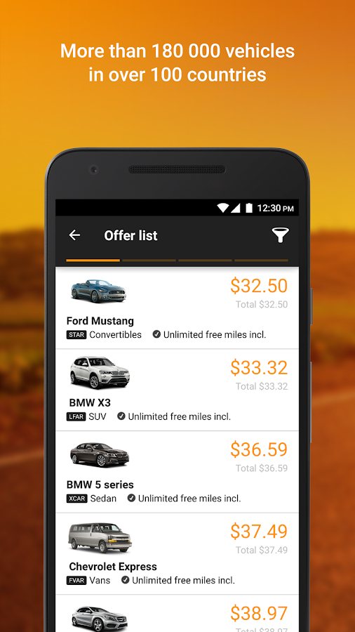 Sixt Rent a Car- screenshot