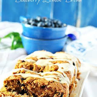 Blueberry Lemon Bread.