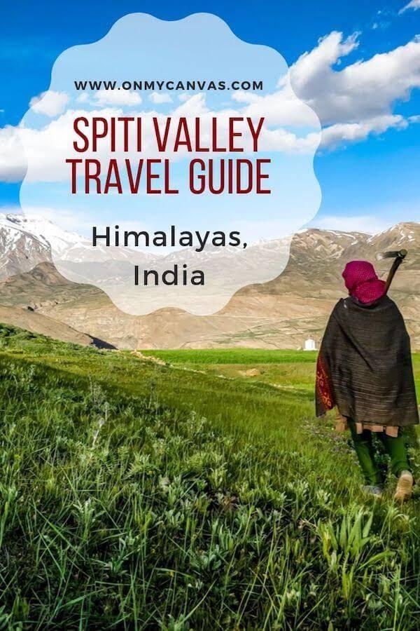 pinterest image for spiti valley travel tips