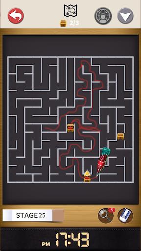 Maze : Pen Runner 1.1.5 gameplay | by HackJr.Pw 11