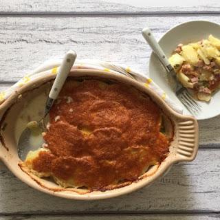 Ham, Cheddar & Potato Gratin Recipe
